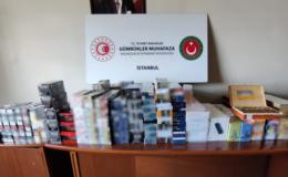 İstanbul'da kaçak sigara operasyonu