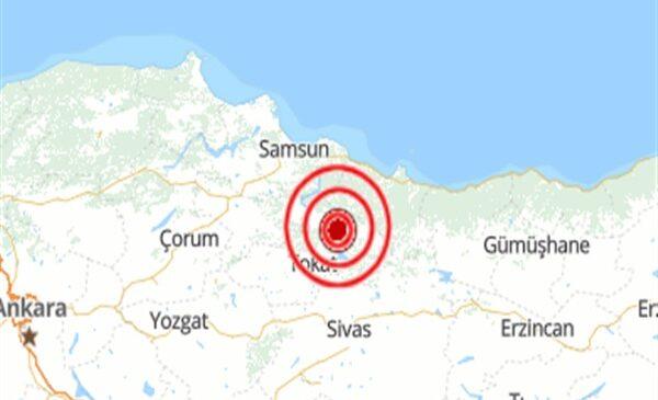 Son Dakika: Tokat deprem ile sarsıldı! İşte büyüklüğü