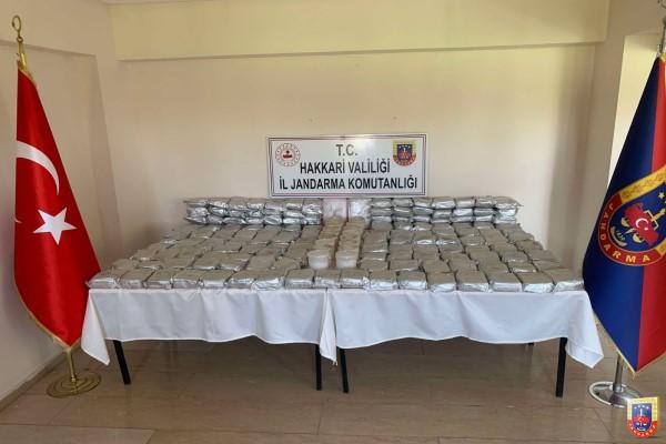 Hakkari, Van ve Diyarbakır'da uyuşturucu operasyonu
