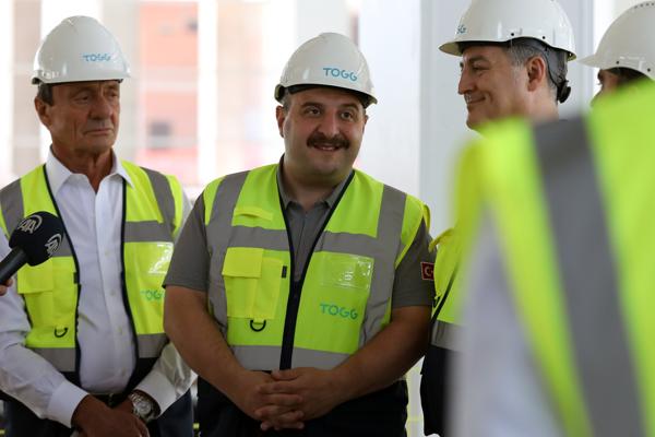 TOGG fabrikası inşaatı tüm hızıyla devam ediyor