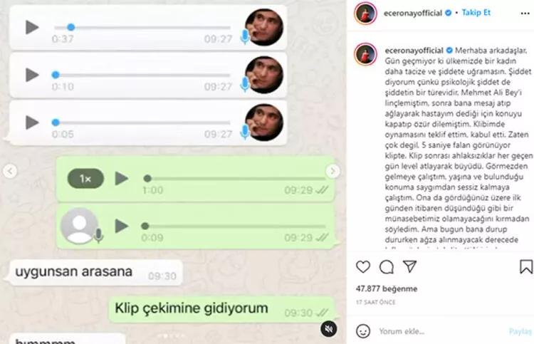 Ece Ronay Mehmet Ali Erbil Konuşmaları
